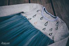 Tüll Kleid DIY / Tull dress DIY Tutorial Diy Dress, Tulle Dress, Diy Tutorial, Kids Outfits, Sewing, Sweatshirts, Sweaters, Pattern, Clothes