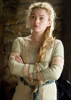 This costume was first seen on Sophia Myles as Isolde in the 2006 film Tristan & Isolde