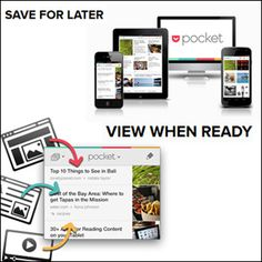 Flavorwire's fave websites    Pocket - Read It Later - Save Images, Articles, Videos for Later