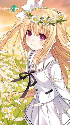 Date a live Anime School Girl, Anime Girl Cute, Beautiful Anime Girl, I Love Anime, Anime Art Girl, All Anime, Anime Girls, Lolis Neko, Anime Neko