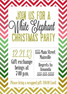12 Best White Elephant Party Ideas Images In 2013 Christmas