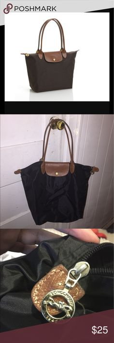Longchamp Small Black Tote Small Black Longchamp Tote. Slightly used, no rips or tears. Longchamp Bags Totes