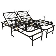 Adjustable Bed Frame Head and Foot 1-Piece Adjusted up to 10 Different Notches #AdjustableFrames