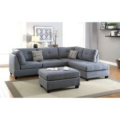 Sofas : Simmons Couch Big Lots Decorating With Black Furniture In The Living Room Bonded Leather Sectional Sofa. Sectionals: The Benefits of Sectional Sofas As Living Room Furniture Part Couch & Loveseat Set. Floral Sofas For Sale. Fabric Sofa With Wood Couch With Ottoman, Sectional Ottoman, Grey Sectional, Living Room Sectional, Chaise Sofa, Living Room Furniture, Living Room Decor, Fabric Sectional, Furniture Stores