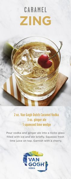 Whip up a refreshing fall cocktail at your next party with the Van ...