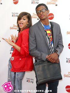 Zendaya Coleman and her boyfriend dress up for Halloween!