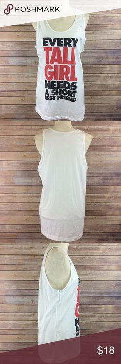 American Apparel Mens/Unisex Graphic Long Tank M Condition: No Rips; No Stains  100%  📦 I ship orders within 24 Hours! {Excluding Weekends}📦  🚫No Trades🚫No Holds🚫 American Apparel Shirts Tank Tops