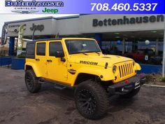 Get your ONE OF A KIND RECON Jeep - New 2015 Jeep Wrangler Unlimited Unlimited Sahara for sale in Orland Park, Illinois - Bettenhausen Chrysler Jeep