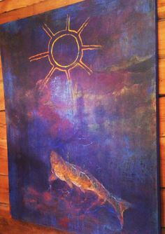 Lappländische Kunst von Teija Holopainen Lappland, Painting, Art, Kunst, Art Background, Painting Art, Paintings, Performing Arts, Painted Canvas