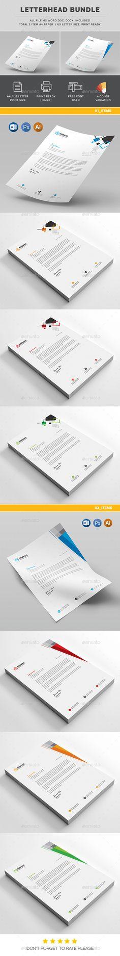 Letterhead Letterhead, Letterhead template and Stationery printing - letterhead format word