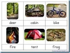 Camping printables