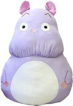 Bou-Nezumi Polyester Cushion ~ Spirited Away $42.00 http://thingsfromjapan.net/bou-nezumi-polyester-cushion-spirited-away/