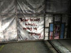 """""""The door that wakes in darkness, opening into nightmares"""" -Silent Hill 2"""