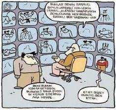 Paralel Evren Karikatürü Özer Aydoğan | Karikatürname