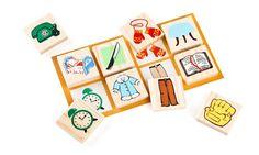 Лото «Предметы» / «Томик» — экологически чистые деревянные игрушки