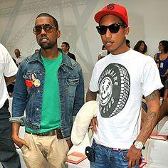 Kanye West + Pharell. Dream husbands right thur.