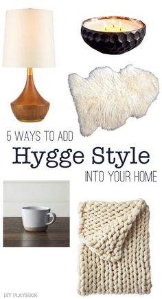 Want to add some serious comfort to your home? Consider incorporating the Danish Hygge style. It's all about creating a warm and inviting atmosphere for guests!