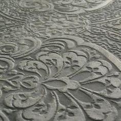 beton fleurs