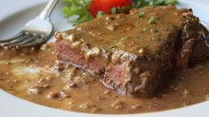 Steak Diane was a staple on menus in fine dining establishments back in the day. Prepared tableside where the server ignited the cognac, it was an impressive sight. But that step's optional here.