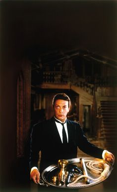 """Wadsworth, played by Tim Curry, from the movie, Clue (1985) - """"Communism was just a red herring."""""""