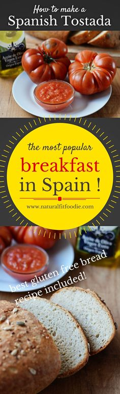 Learn how to make a traditional Spanish Tomato Tostada. It's easy and healthy and makes the perfect breakfast or snack.