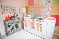 beautiful baby room #chambrebebe #babyroom