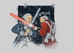Red coats, revolutionaries... and the force.