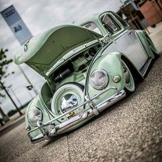 Classic Car News Pics And Videos From Around The World Bicycle For Two, Old Bug, Volkswagen Karmann Ghia, Volkswagen Golf, Vw Vintage, Vw Cars, Porsche, Vw Beetles, Vw Camper