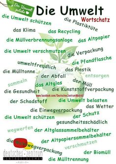Environment German vocabulary Vocabulario DAF German Alemán Medio ambiente Environment German vocabulary Vocabulario DAF German Alemán Medio ambiente Source by kendalljackson. Foreign Language Teaching, German Language Learning, Classroom Language, Dual Language, German Grammar, German Words, Learn German, Learn French, German Resources
