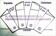 El Rincon De Celestecielo: Patrones para otros tipos de mangas fruncidas 5.- Manga bombacha tipo jamón con puño ajustado