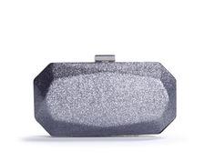 Lulu Townsend Glitter Box Clutch