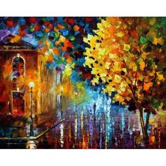 Leonid Afremov MAGIC RAIN painting is available for sale; this Leonid Afremov MAGIC RAIN art Painting is at a discount of off. Rain Painting, Oil Painting On Canvas, Canvas Canvas, Saint Germain En Laye, Rain Art, Beginner Painting, Oil Painting Reproductions, Art Google, Home Art