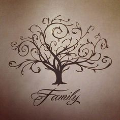 Family tree tattoo I LOOOVE IT! Just make it an ...   Food for thought