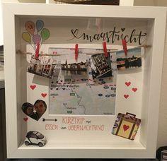 Gutschein Städtetrip Maastricht gifts for boyfriend birthday crafts Diy Birthday, Birthday Presents, Diy Crafts To Do, Crafts With Pictures, Diy Presents, Gifts For Your Boyfriend, Simple Gifts, Cool Things To Make, Handmade Gifts