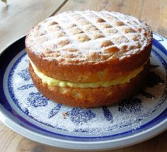 Victoria Sandwich - Classic English Sponge Cake for Tea Time.