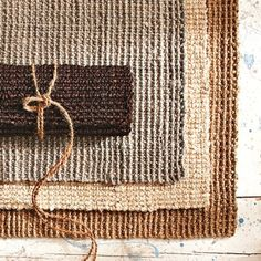 With so many benefits to jute rugs, such as their eco-friendly stature and inability to ever go out of style while lending their natural good looks to any room in your home, it's. Dark Carpet, Blue Carpet, Modern Carpet, Carpet Colors, Wool Carpet, Rugs On Carpet, Sisal Carpet, Natural Carpet, Hallway Carpet Runners