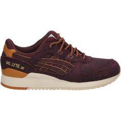 dikke Asics gel-lyte iii heren sneakers (Rood)