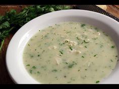 Sopa de frango cremosa - YouTube