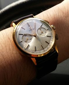 omegaforums: #Vintage #OMEGA Calibre 320 Square Pusher Dress #Chronograph #Circa 1950s