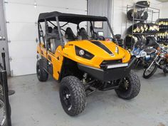 Used 2014 Kawasaki Teryx4 800 ATVs For Sale in Colorado. stock # 500691**FINANCE SPECIAL, 1% OFF approved rate PLUS 90 days to FIRST Payment, with approved credit**2014 Kawasaki KRT800BEF Teryx4 ,big wheels/tires (28x10), lift kit, front bumper, mirrors, EPS, super bright LED light bar,ready to ride!For more info please call Steele's Cycle at 303 781 5339 info or visit our showroom for a test ride! We are Denver's largest and most affordable pre-owned motorcycle dealer! We offer competitive…
