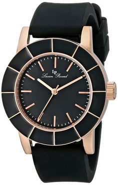 Lucien Piccard Women's LP-12926-RG-01 Analog Display Japanese Quartz Black Watch *** Learn more by visiting the image link. Lucien Piccard, Modern Watches, Stainless Steel Case, Image Link, Quartz, Lp, Display, Japanese, Continue Reading