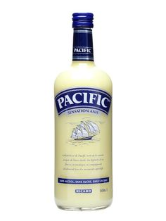 Ricard Pacific / Sensation Anis : Buy Online - The Whisky Exchange - A litre bottle of non-alcoholic aniseed cream drink from famous French pastis producers Ricard.  Nope, us neither.
