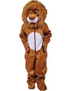 Unisex Adult Lion Mascot Costume