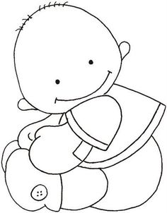 Baby coloring pages Baby Coloring Pages, Pattern Coloring Pages, Quilt Baby, Baby Embroidery, Embroidery Designs, Applique Patterns, Digi Stamps, Copics, Baby Cards