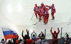 Torjubel der Russen