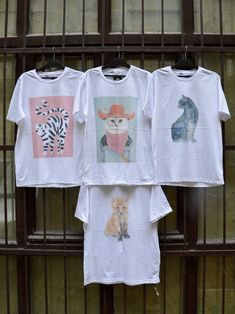 #tshirt #unique #design #cat #fox #budapest #szputnyikshop #szputnyik Budapest, Fox, Vintage Fashion, Marvel, Unique, T Shirt, Shopping, Collection, Design