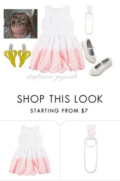 """""""Poppy's Dress for Lucy and Trever's Babyshower"""" by stephanie-jozwiak ❤ liked on Polyvore"""