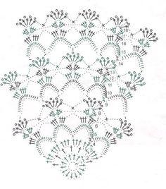 Delicadezas en crochet Gabriela: Clásico mantel de ganchillo redondo punto muy fácil