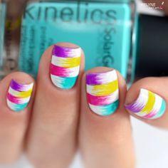 Hello! Nail Art Facile et Coloré pour l'été – Tutorial