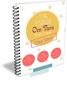 sign up to get instant access to your free copy of The Essential Bead Stash Cheat Sheets